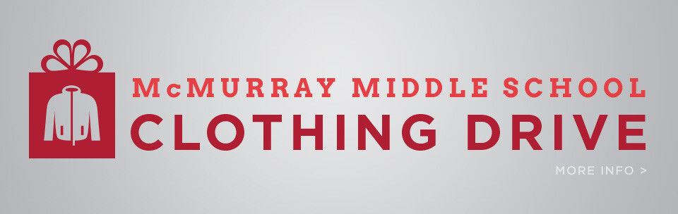 McMurray Clothing Drive