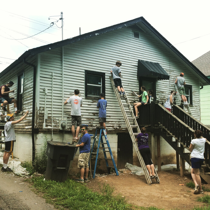 Photo from Nashville Work Camp 2015