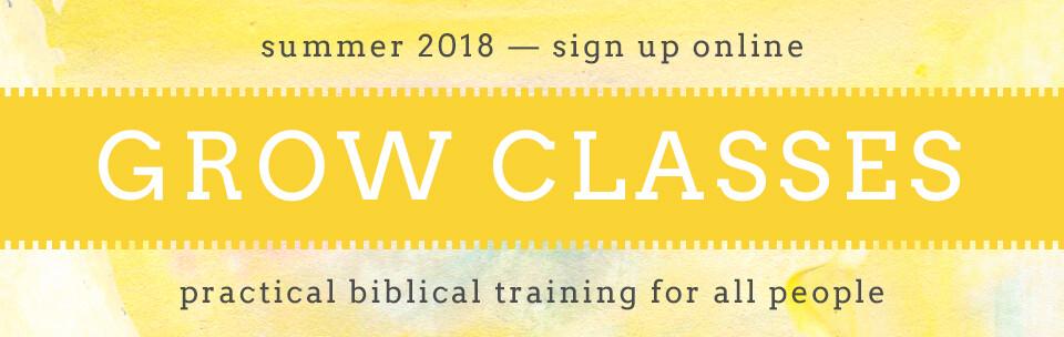 Grow Classes