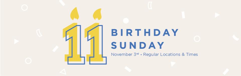 Birthday Sunday